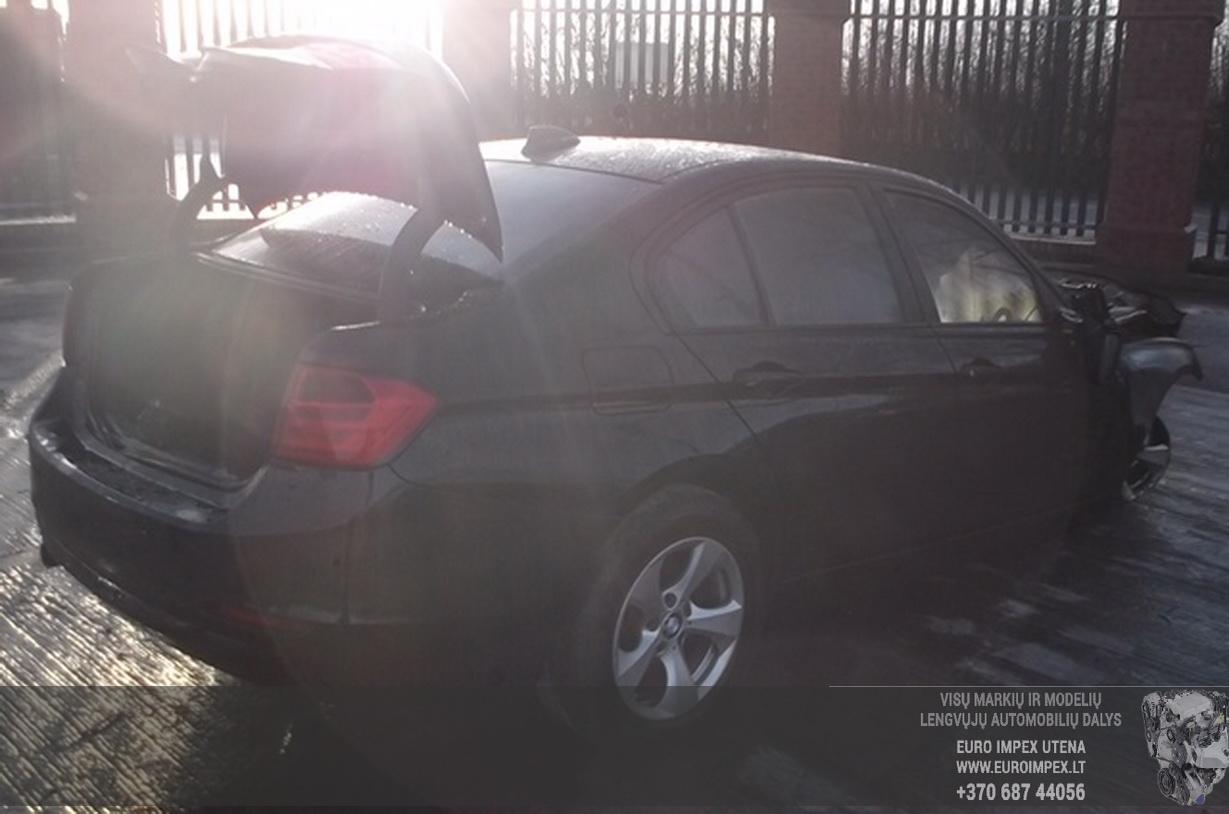 Naudotos automobiliu dallys Foto 3 BMW 3-SERIES 2012 2.0 Automatinė Sedanas 4/5 d. Juoda 2015-6-25 A2244