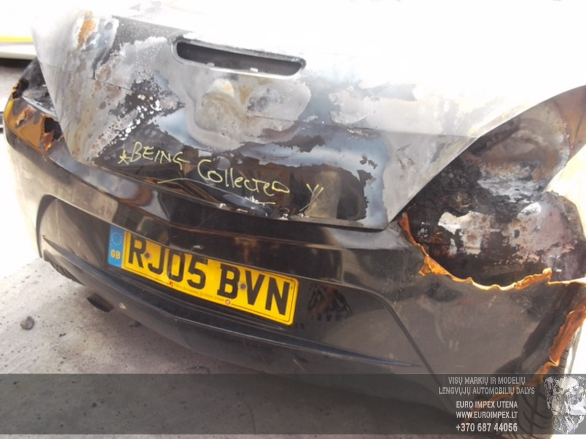 Naudotos automobiliu dallys Foto 2 Opel TIGRA 2005 1.4 Mechaninė Kabrioletas 2/3 d. Juoda 2015-6-30 A2269