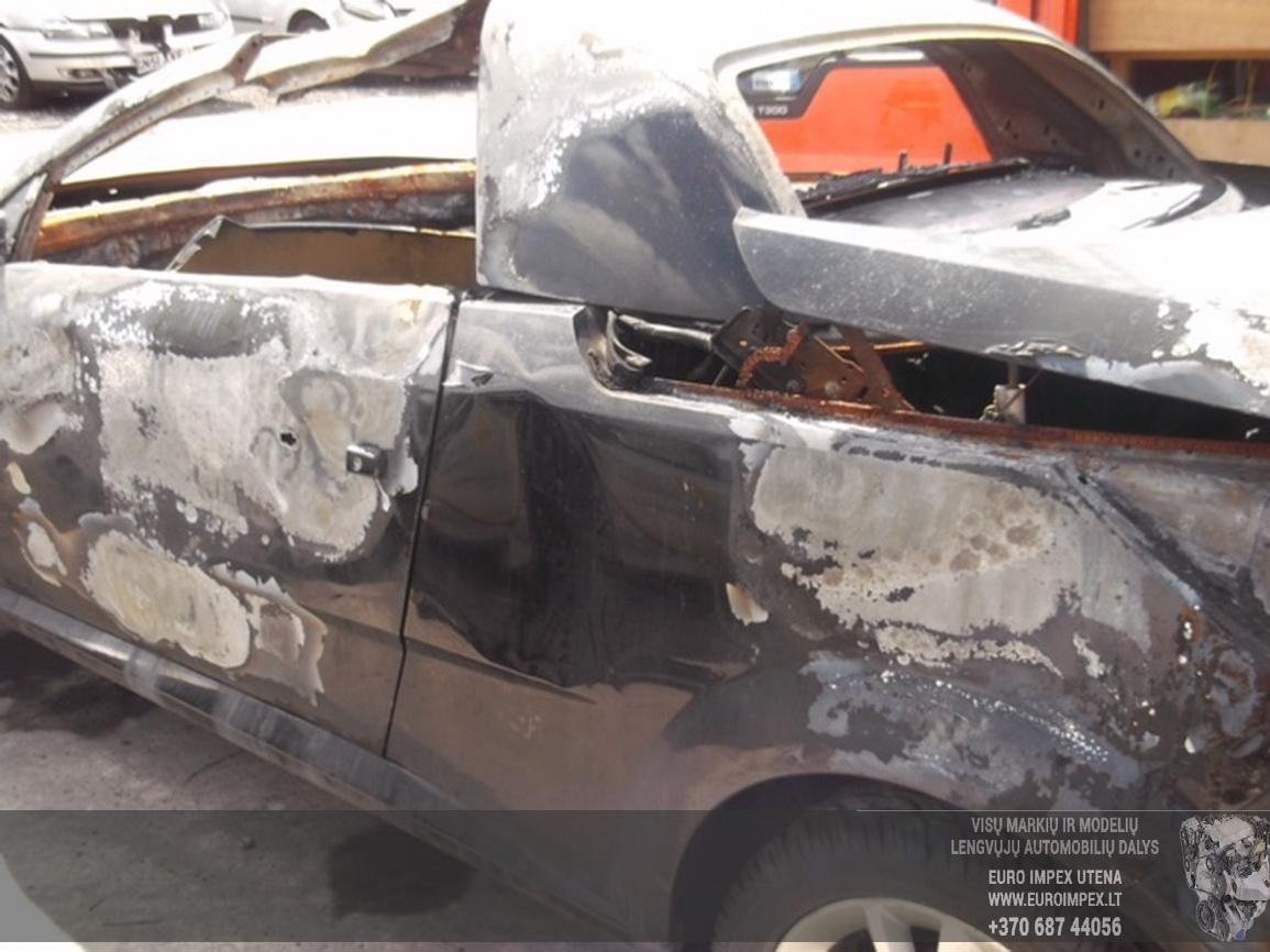 Naudotos automobiliu dallys Foto 3 Opel TIGRA 2005 1.4 Mechaninė Kabrioletas 2/3 d. Juoda 2015-6-30 A2269
