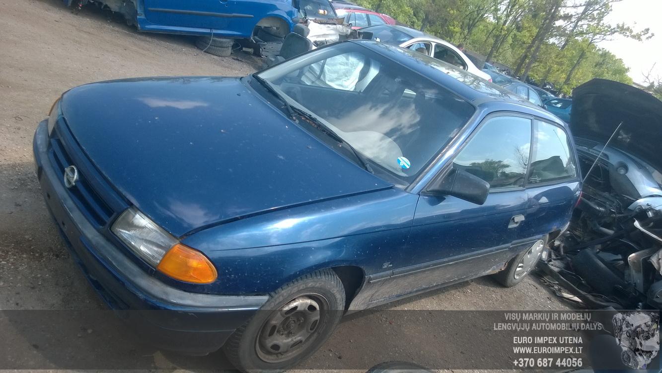 Naudotos automobiliu dallys Foto 3 Opel ASTRA 1992 1.6 Mechaninė Hačbekas 2/3 d. Melyna 2015-6-02 A2220