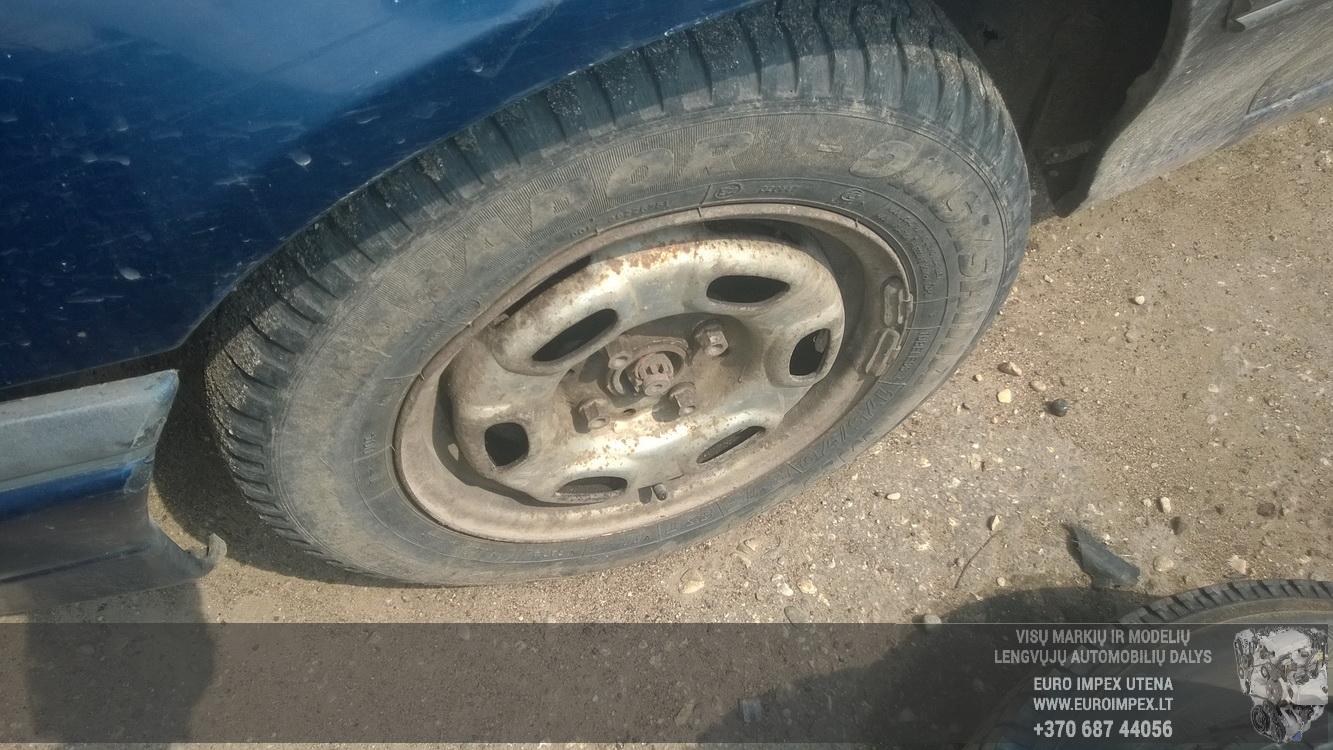 Naudotos automobiliu dallys Foto 4 Opel ASTRA 1992 1.6 Mechaninė Hačbekas 2/3 d. Melyna 2015-6-02 A2220