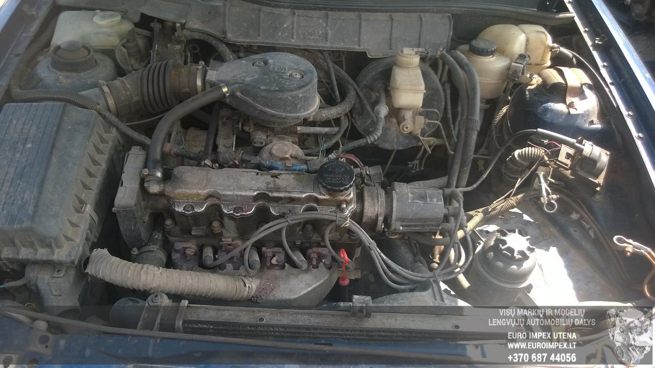 Naudotos automobiliu dallys Foto 8 Opel ASTRA 1992 1.6 Mechaninė Hačbekas 2/3 d. Melyna 2015-6-02 A2220