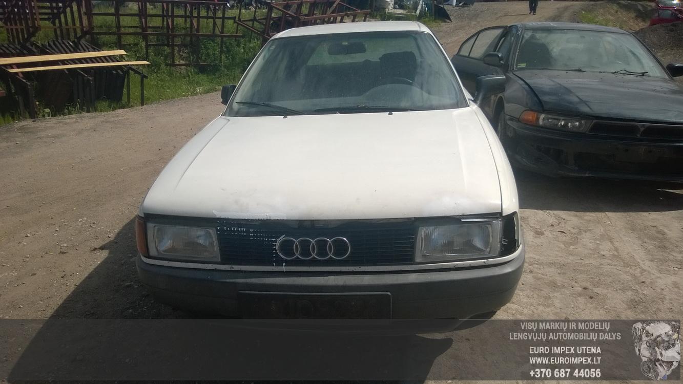 Naudotos automobiliu dallys Foto 2 Audi 80 1989 1.8 Mechaninė Sedanas 4/5 d. Balta 2015-6-08 A2231
