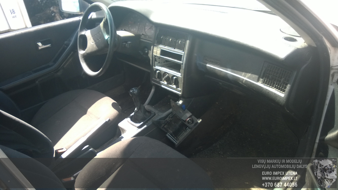 Naudotos automobiliu dallys Foto 5 Audi 80 1989 1.8 Mechaninė Sedanas 4/5 d. Balta 2015-6-08 A2231