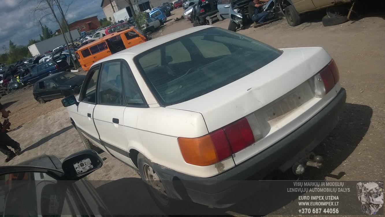 Naudotos automobiliu dallys Foto 7 Audi 80 1989 1.8 Mechaninė Sedanas 4/5 d. Balta 2015-6-08 A2231