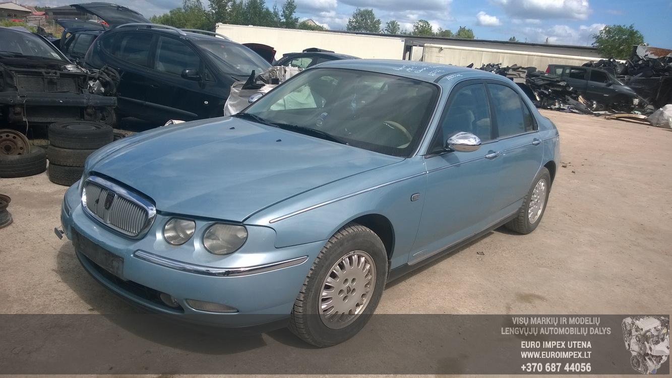 Naudotos automobilio dalys Rover 75 1999 2.5 Mechaninė Sedanas 4/5 d. Zydra 2015-6-08