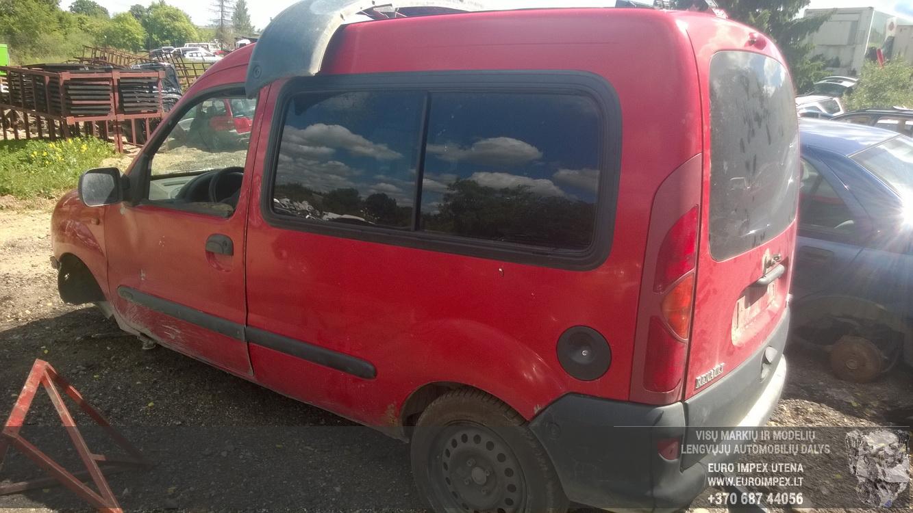 Naudotos automobilio dalys Renault KANGOO 1999 1.4 Mechaninė Komercinis 2/3 d. Raudona 2015-6-16