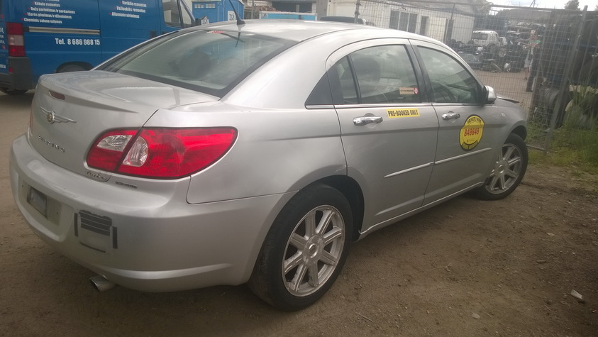 Naudotos automobilio dalys Chrysler SEBRING 2008 2.0 Mechaninė Sedanas 4/5 d. Balta 2015-6-17