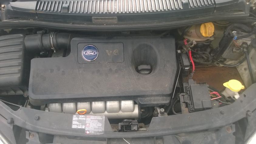 Naudotos automobiliu dallys Foto 8 Ford GALAXY 2002 2.8 Mechaninė Vienatūris 4/5 d. Balta 2015-6-17 A2241