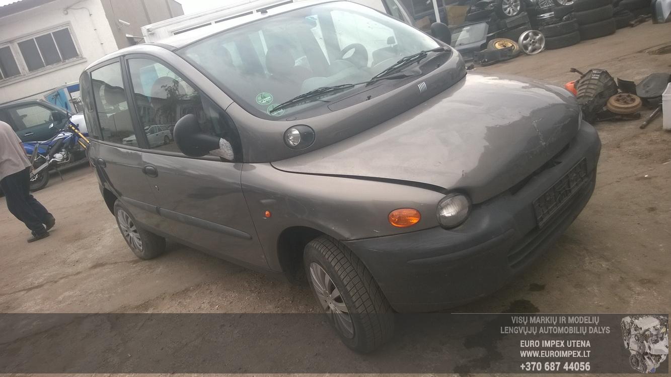 Car Fiat MULTIPLA 1.6L76kW Petrol parts