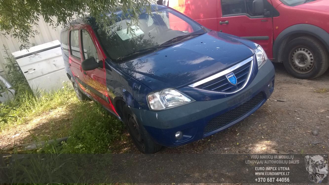 Naudotos automobilio dalys Dacia LOGAN 2008 1.5 Mechaninė Universalas 4/5 d. Melyna 2015-6-30