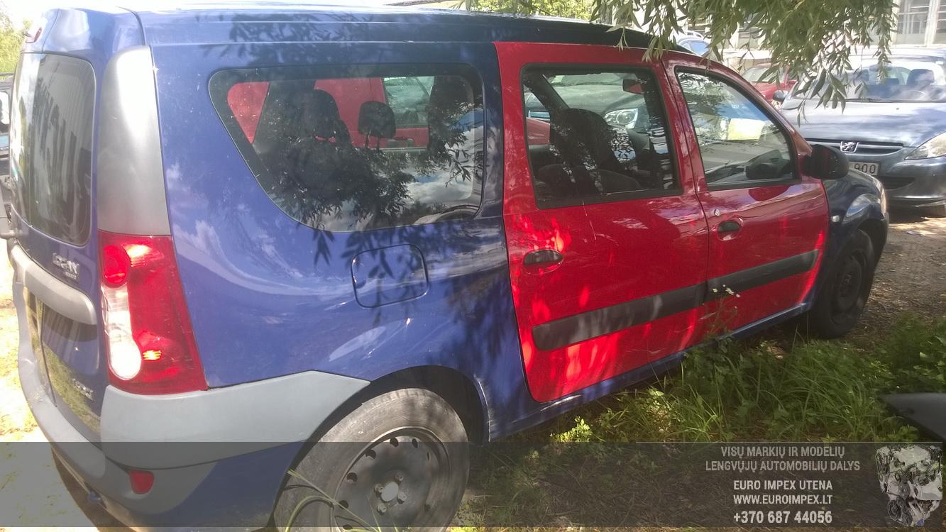 Naudotos automobiliu dallys Foto 7 Dacia LOGAN 2008 1.5 Mechaninė Universalas 4/5 d. Melyna 2015-6-30 A2276