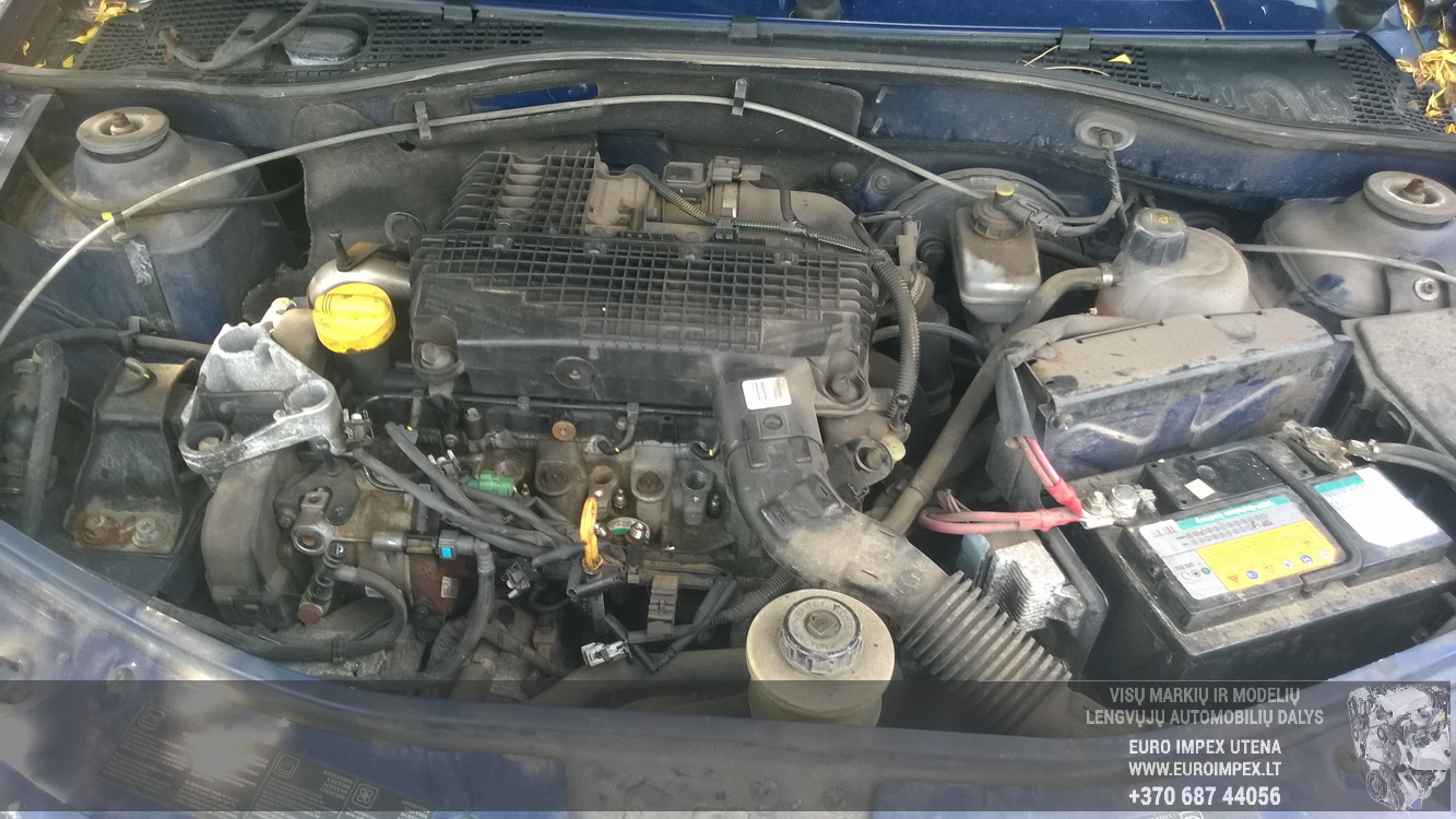 Naudotos automobiliu dallys Foto 8 Dacia LOGAN 2008 1.5 Mechaninė Universalas 4/5 d. Melyna 2015-6-30 A2276