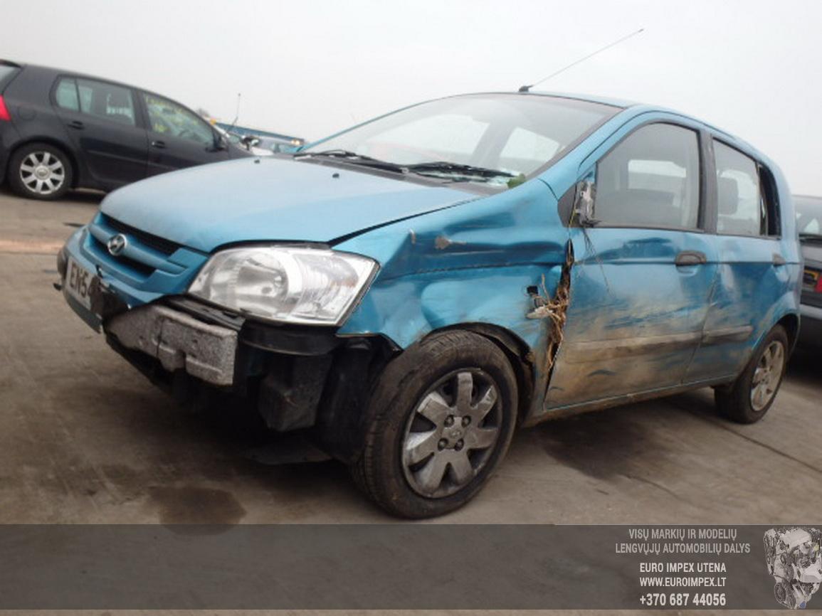 Hyundai GETZ 2004 1.3 Automatinė