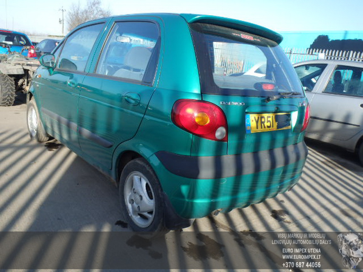 Working And Cheap Parts From Daewoo Matiz 08l38kw Petrol Car For Fuse Box Location