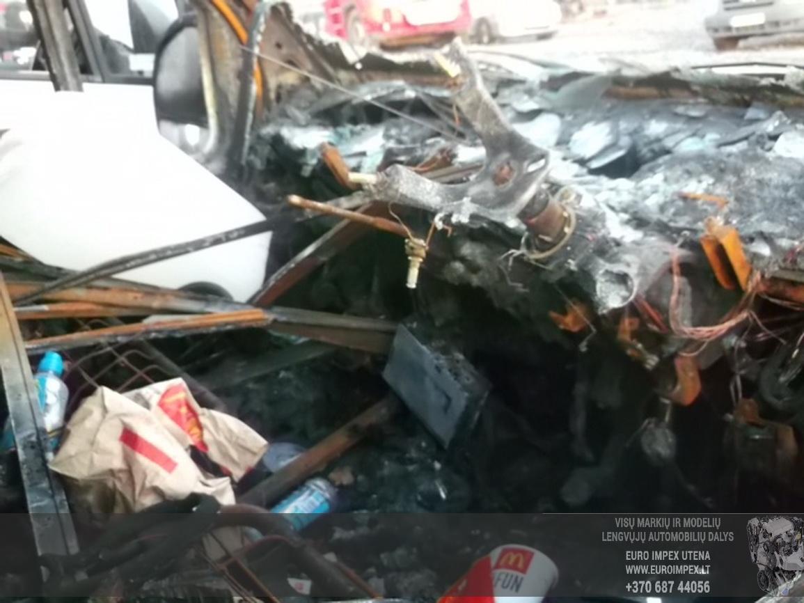 Naudotos automobilio dalys Citroen RELAY 2006 2.2 Mechaninė Krovininis mikroautobusas 2/3 d. Balta 2015-6-29