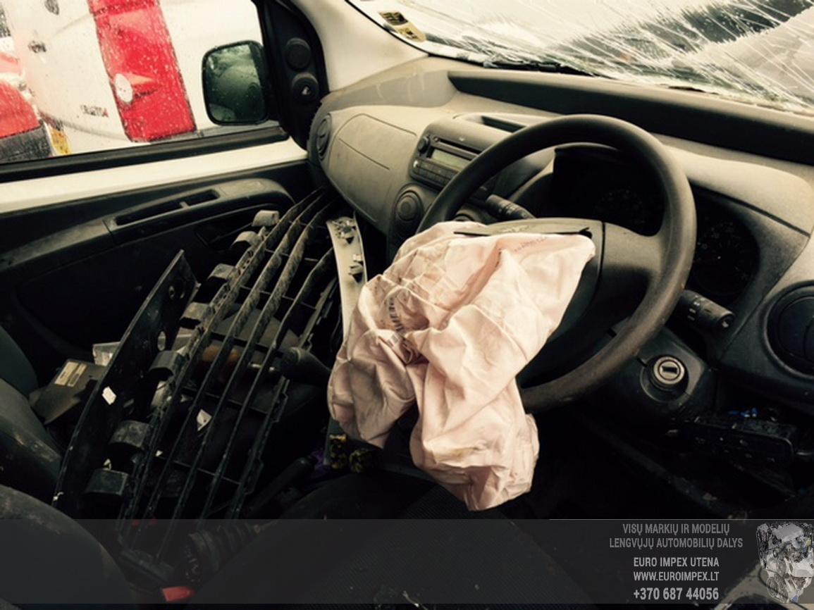 Naudotos automobilio dalys Peugeot BIPPER 2010 1.4 Mechaninė Komercinis 2/3 d. Balta 2015-6-29