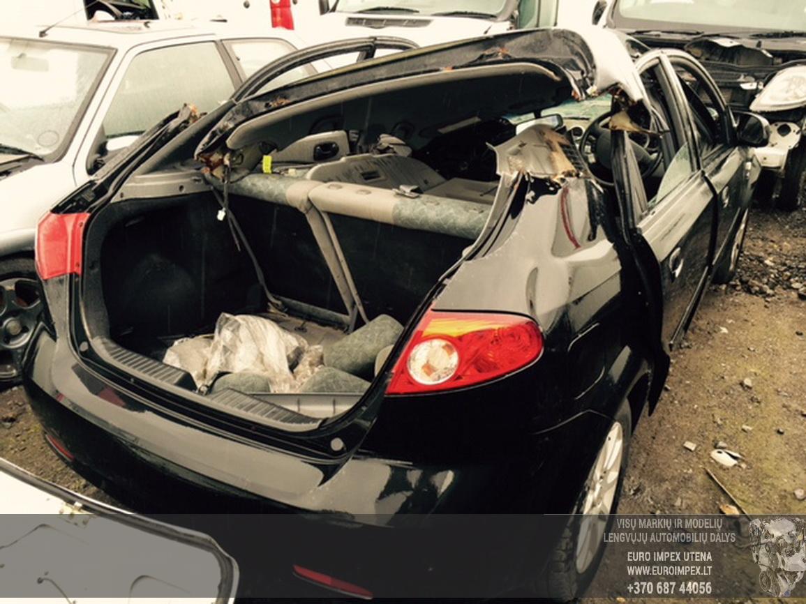Naudotos automobilio dalys Daewoo LACETTI 2004 1.6 Mechaninė Hačbekas 4/5 d. Juoda 2015-6-29