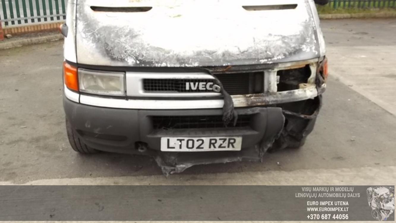 Naudotos automobiliu dallys Foto 7 Iveco DAILY 2002 2.8 Mechaninė Krovininis mikroautobusas 2/3 d. Balta 2015-6-29 A2261