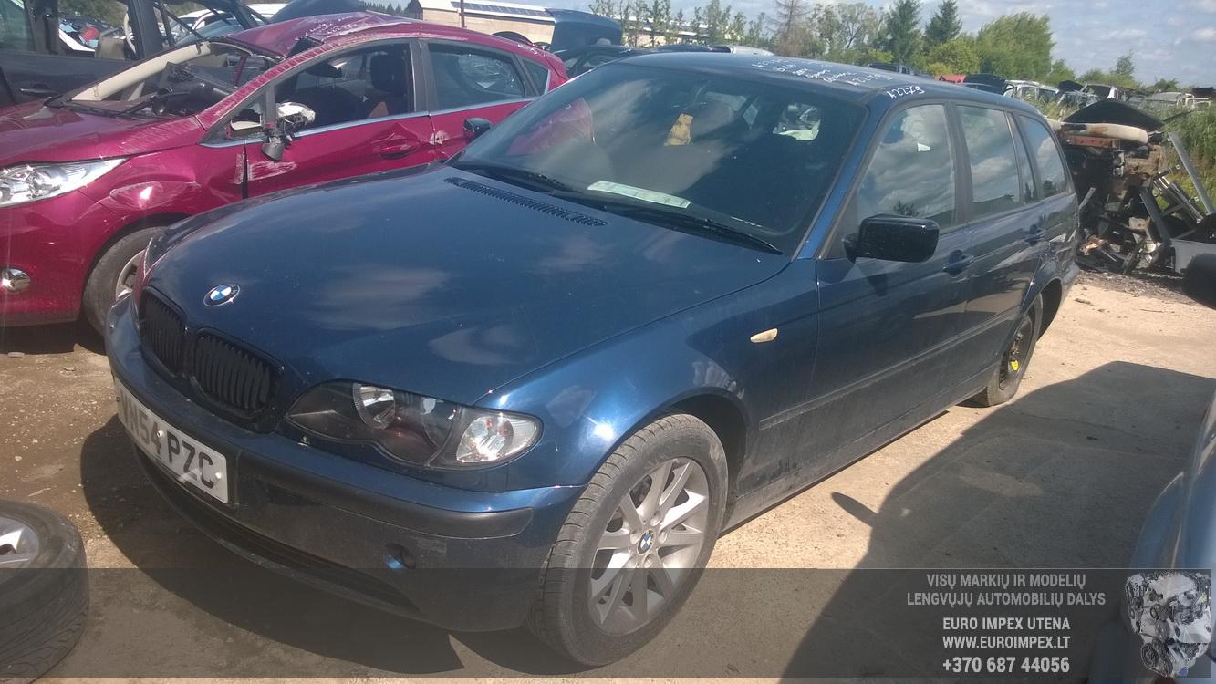 BMW 3-SERIES 2004 2.0 Mechaninė