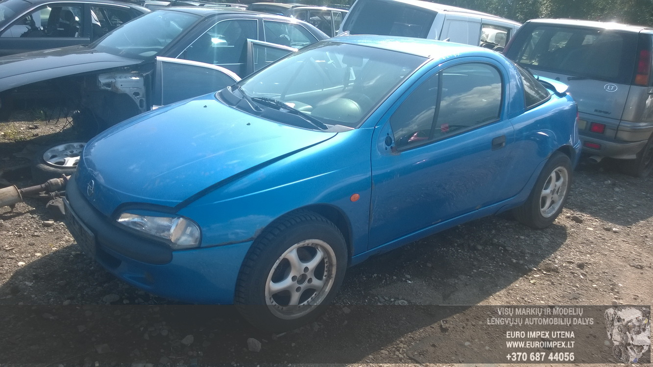 Opel TIGRA 1997 1.4 Automatinė
