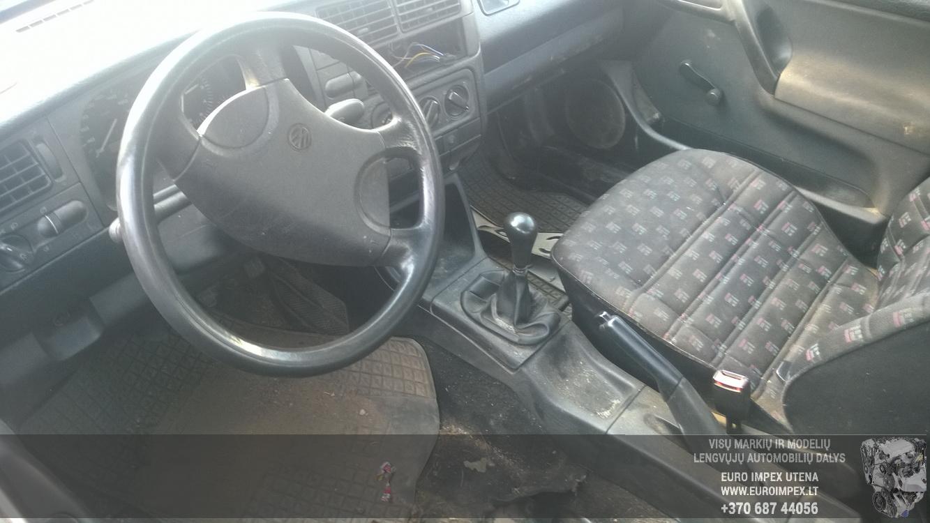 Naudotos automobilio dalys Volkswagen GOLF 1993 1.9 Mechaninė Hačbekas 4/5 d. Violetine 2015-7-09