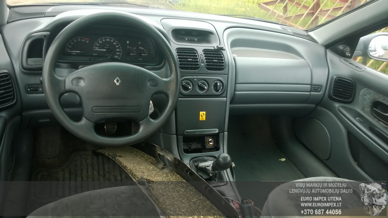 Naudotos automobiliu dallys Foto 7 Renault LAGUNA 1996 1.8 Mechaninė Hačbekas 4/5 d. Vysnine 2015-7-13 A2292