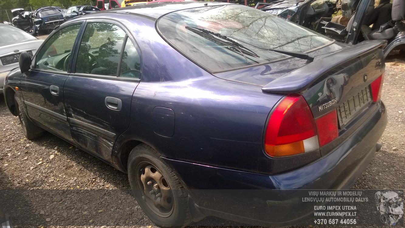 Naudotos automobilio dalys Mitsubishi CARISMA 1998 1.9 Mechaninė Hačbekas 4/5 d. Melyna 2015-7-14