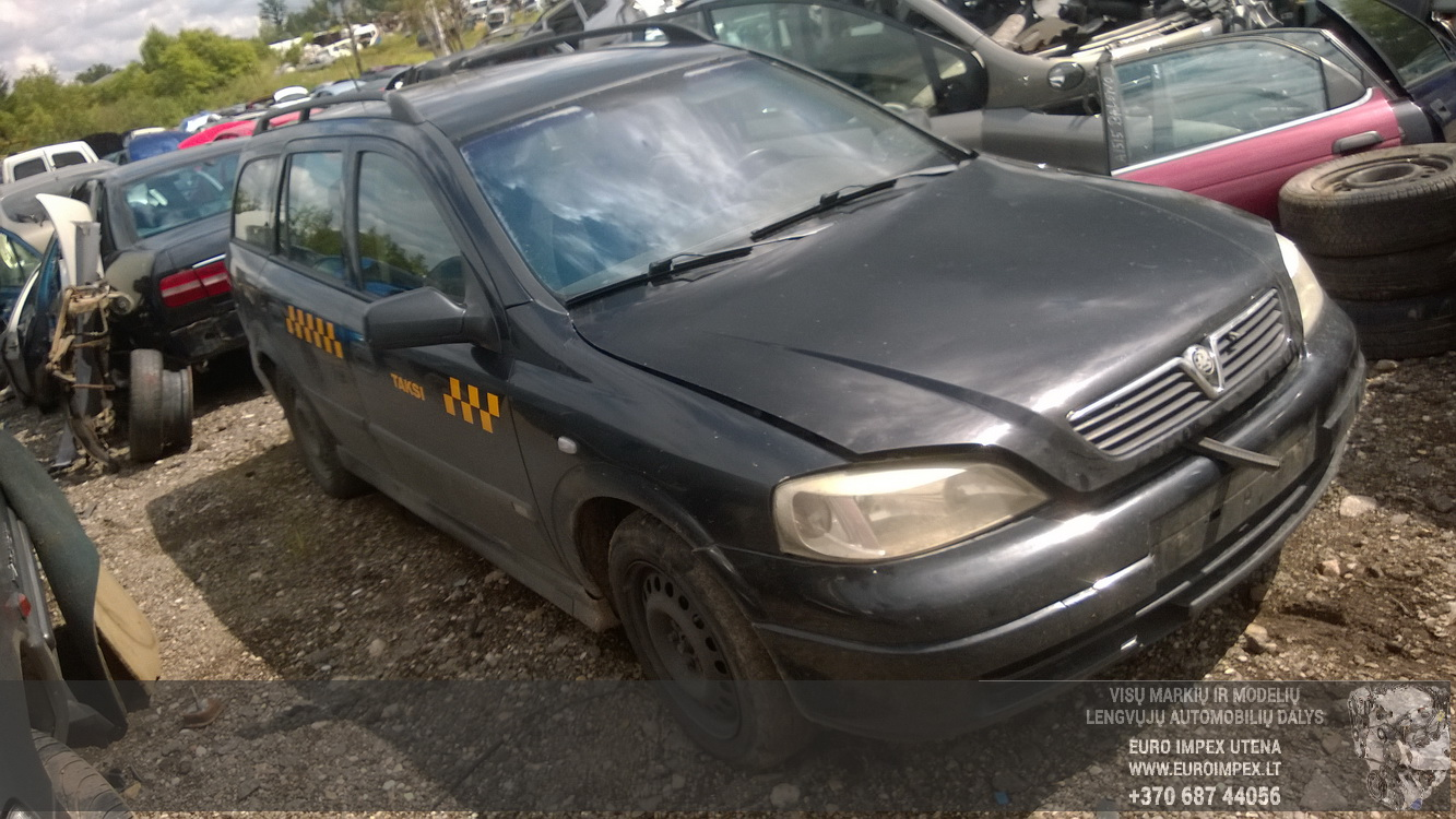 Used Car Parts Foto 1 Opel ASTRA 1998 2.0 Mechanical Universal 4/5 d. Black 2015-7-14 A2301