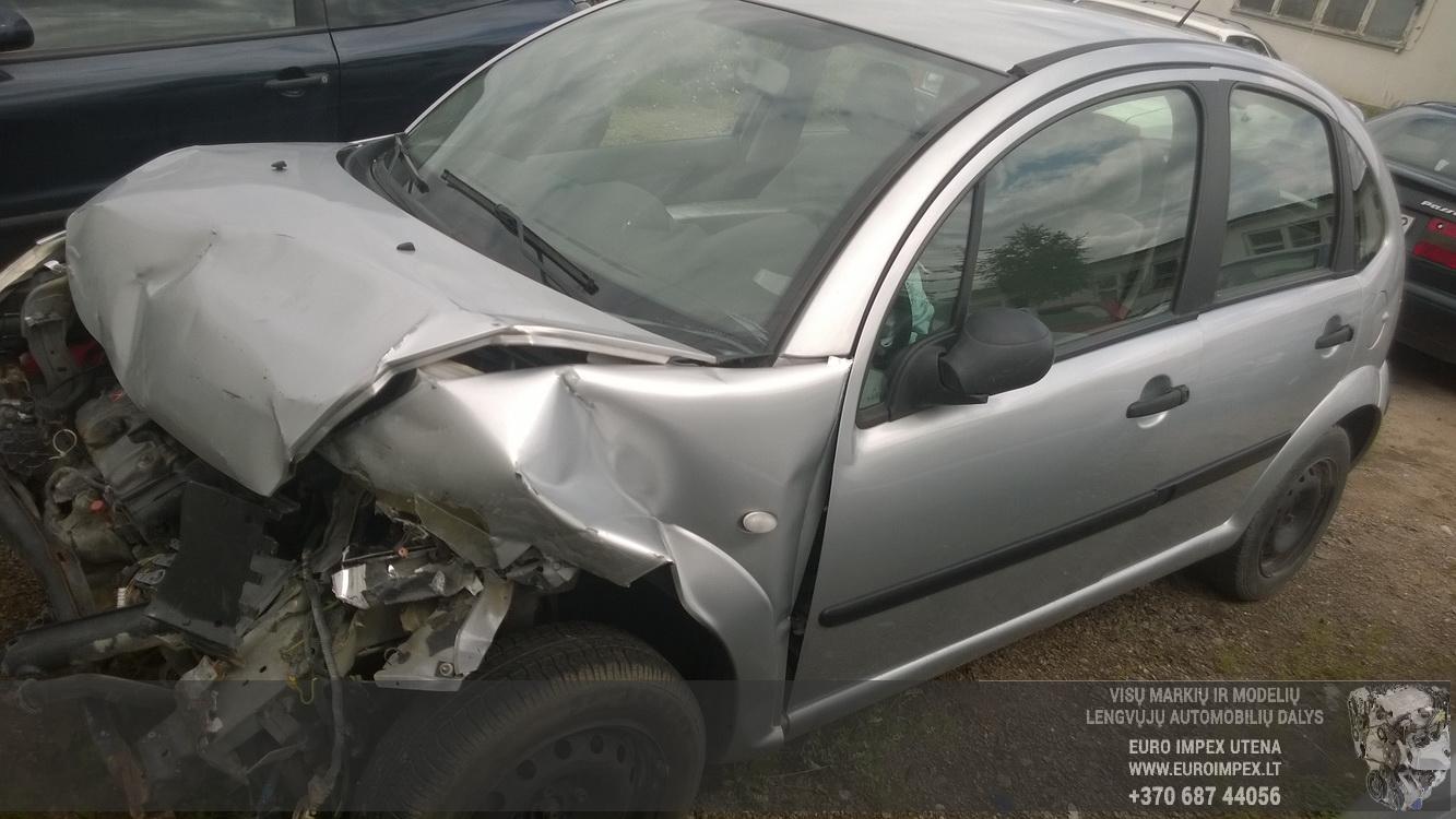 Naudotos automobilio dalys Citroen C3 2003 1.1 Mechaninė Hačbekas 4/5 d. Pilka 2015-7-14