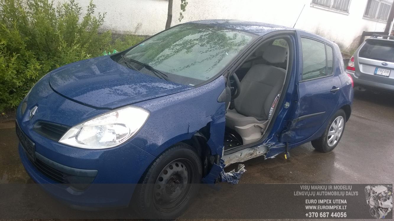 Renault CLIO 2007 1.5 Mechaninė