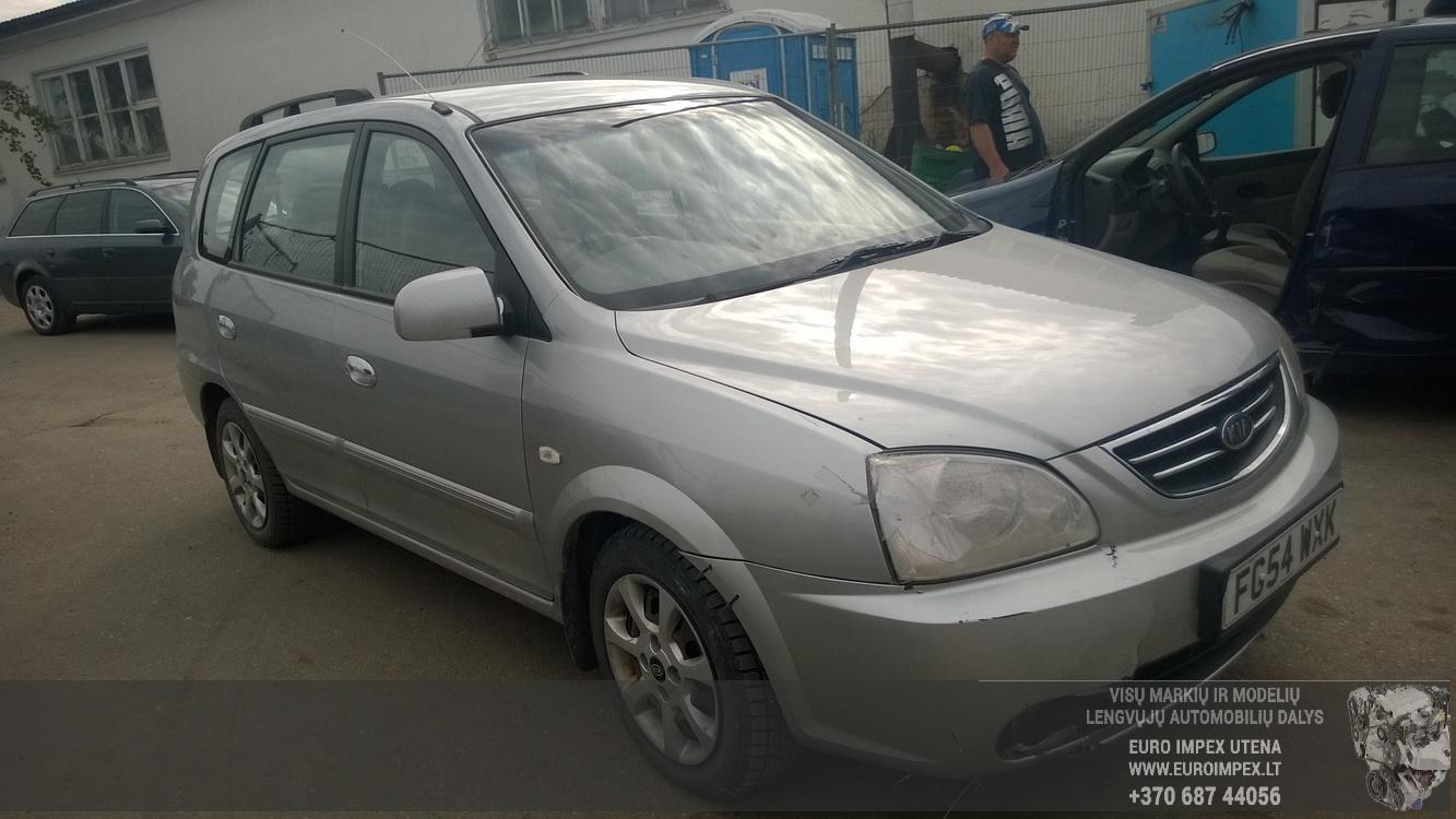 Naudotos automobilio dalys Kia CARENS 2004 1.8 Mechaninė Vienatūris 4/5 d. Pilka 2015-7-17