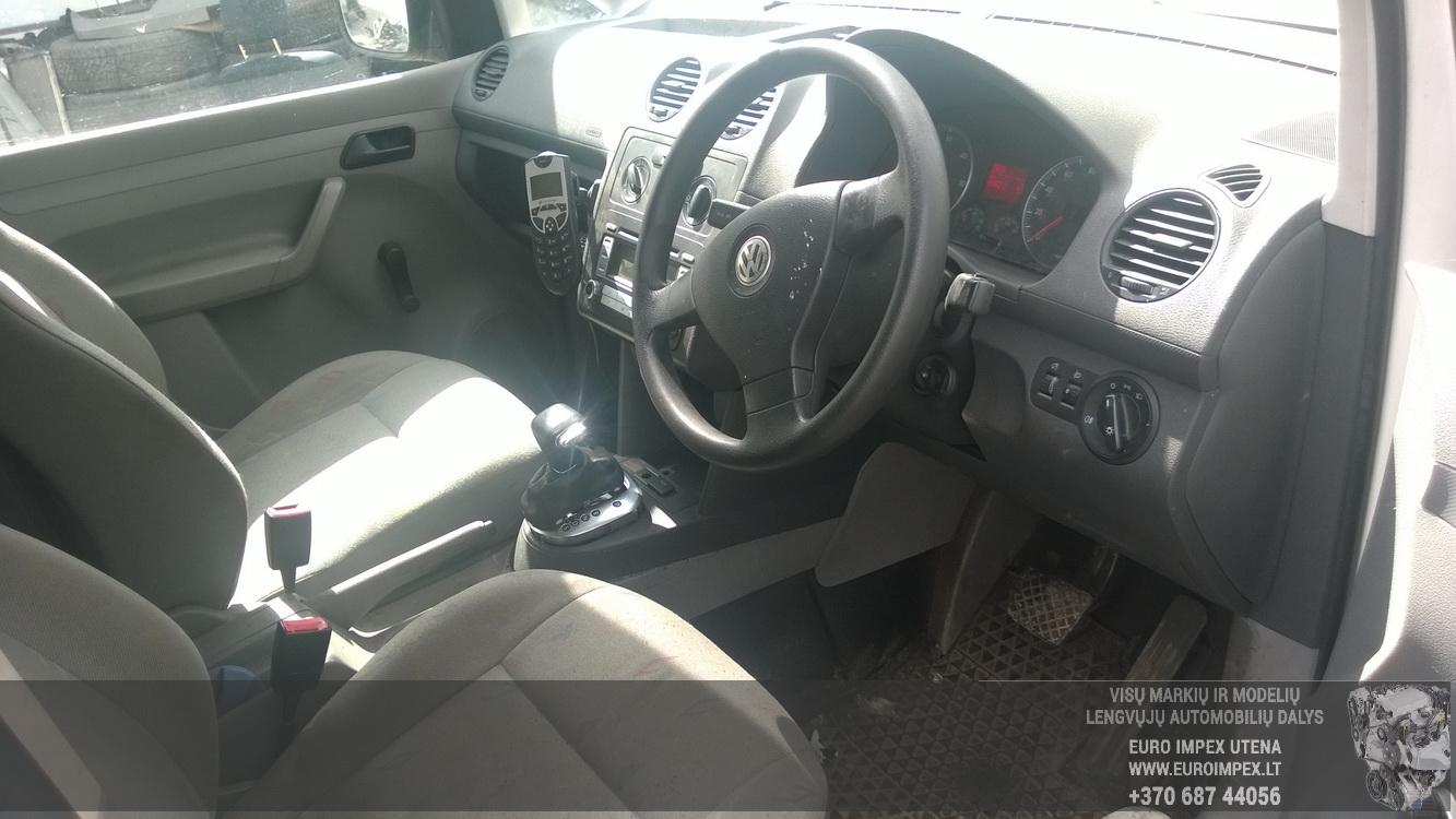 Naudotos automobiliu dallys Foto 5 Volkswagen CADDY 2006 1.9 Automatinė Komercinis 2/3 d. Balta 2015-7-21 A2308