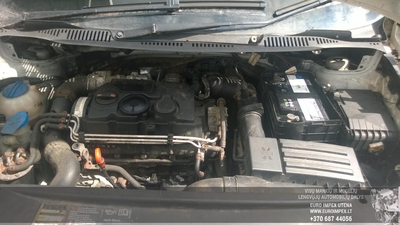 Naudotos automobiliu dallys Foto 8 Volkswagen CADDY 2006 1.9 Automatinė Komercinis 2/3 d. Balta 2015-7-21 A2308