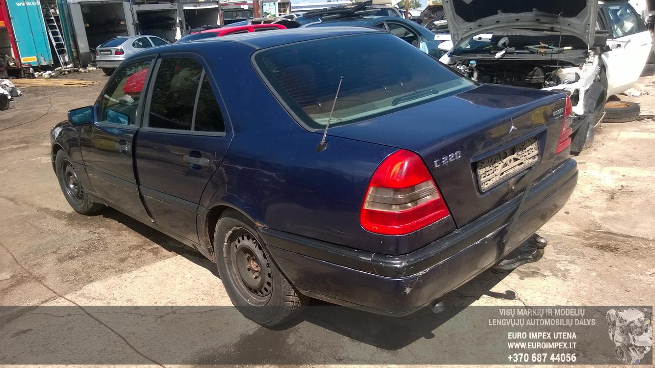 Naudotos automobilio dalys Mercedes-Benz C-CLASS 1997 2.2 Mechaninė Sedanas 4/5 d. Melyna 2015-7-24