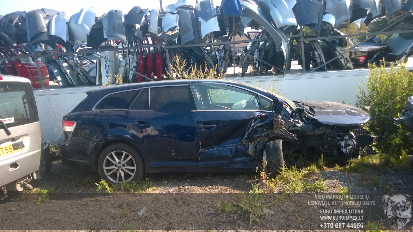 A2341 Toyota AVENSIS 2011 2.0 Mechaninė Dyzelis