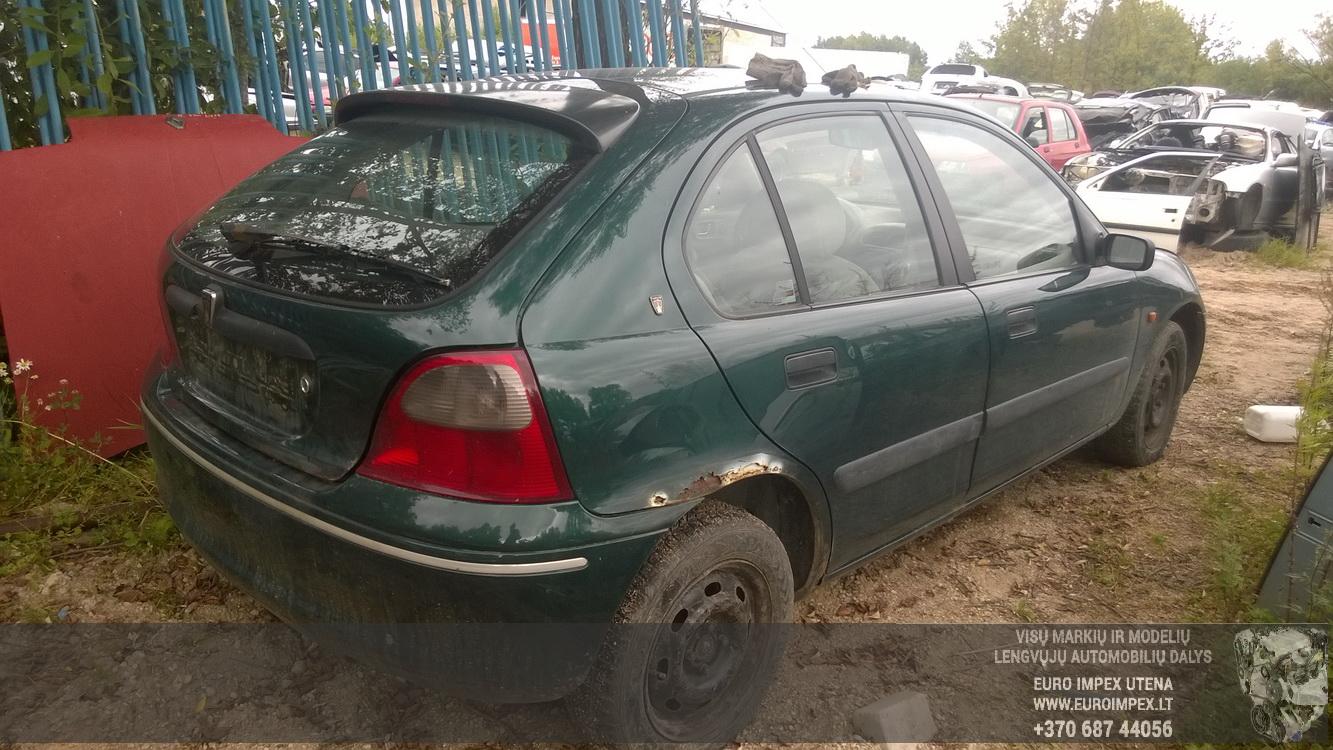 Naudotos automobilio dalys Rover 200-SERIES 1997 2.0 Mechaninė Hečbekas 4/5 d. Zalia 2015-8-17