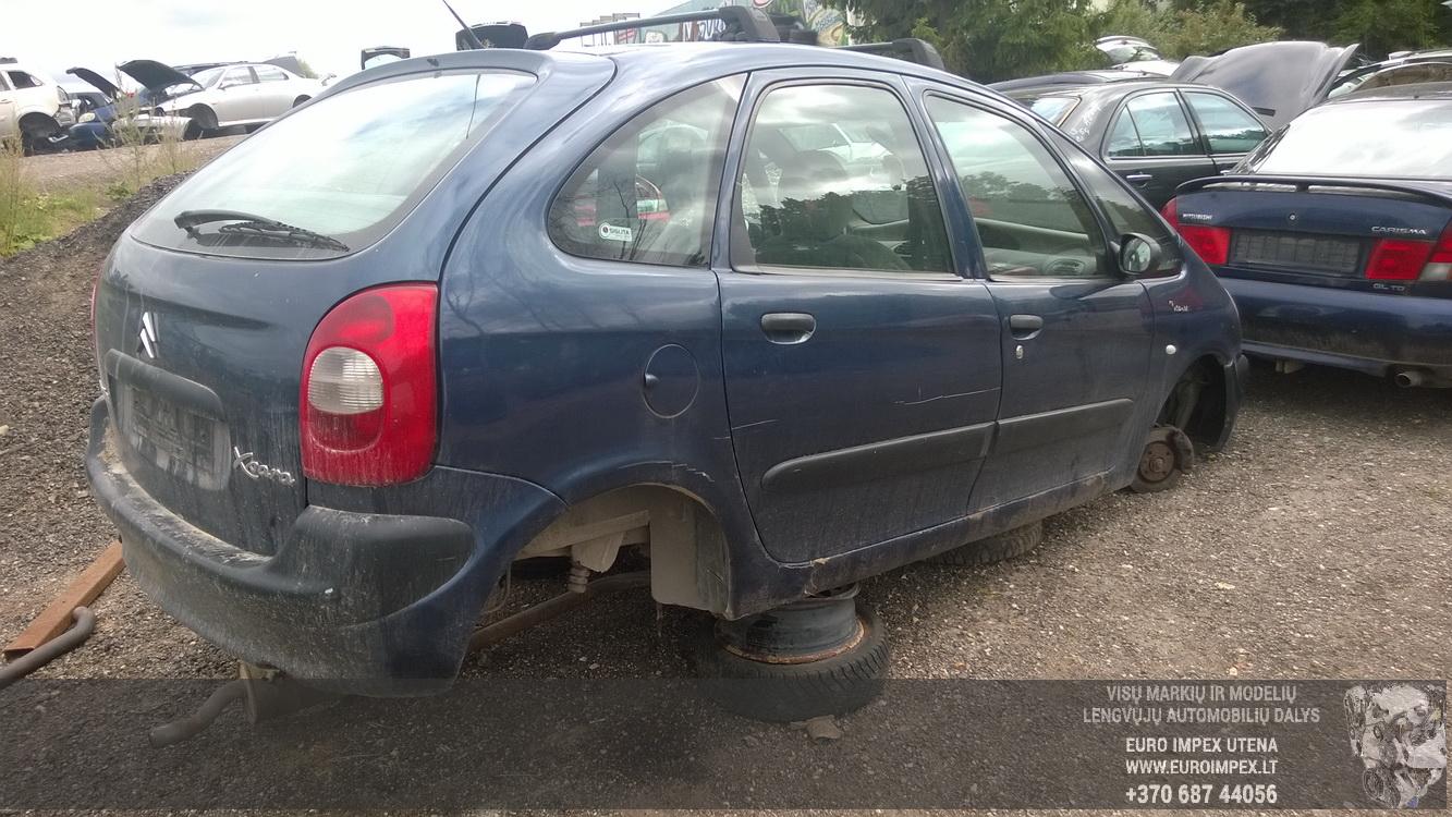 Naudotos automobiliu dallys Foto 6 Citroen XSARA PICASSO 2000 2.0 Mechaninė Vienatūris 4/5 d. Violetine 2015-8-17 A2333