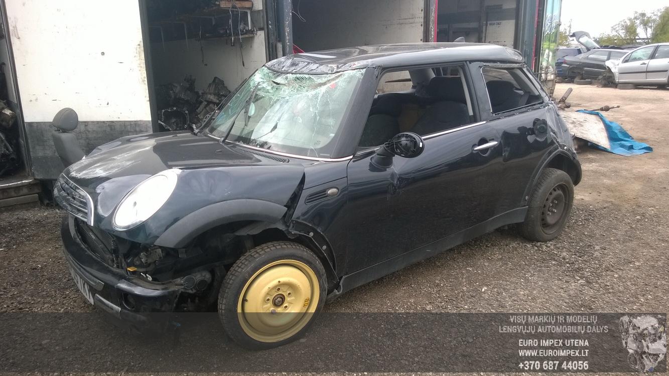 Naudotos automobilio dalys Mini ONE 2005 1.6 Mechaninė Hečbekas 2/3 d. Juoda 2015-8-18