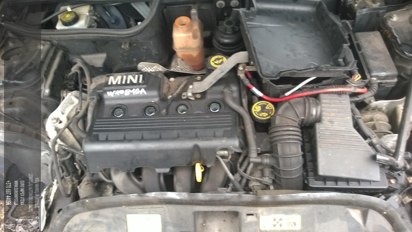 Naudotos automobiliu dallys Foto 8 Mini ONE 2005 1.6 Mechaninė Hečbekas 2/3 d. Juoda 2015-8-18 A2336