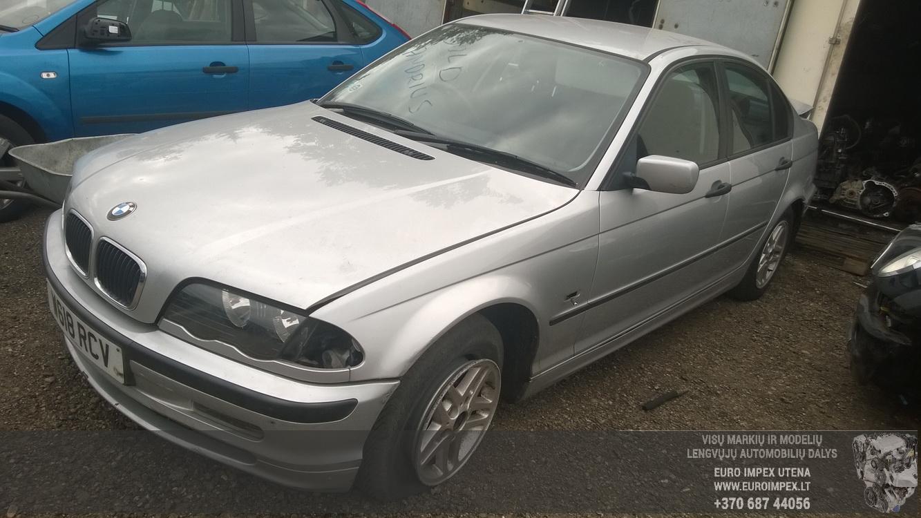BMW 3-SERIES 2000 1.9 Mechaninė