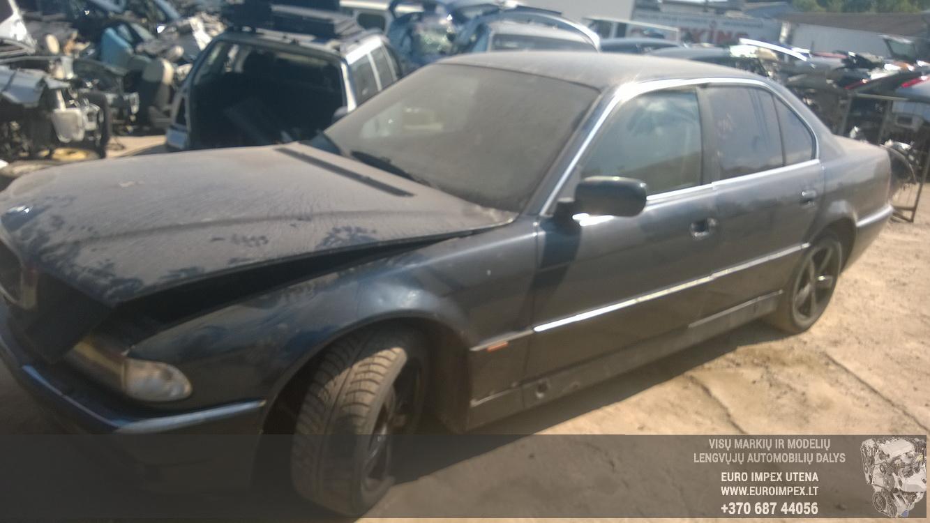 Naudotos automobilio dalys BMW 7-SERIES 1997 3.0 Automatinė Sedanas 4/5 d. Juoda 2015-8-24
