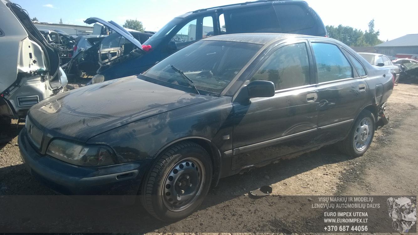 Naudotos automobilio dalys Volvo S40 1997 2.0 Mechaninė Sedanas 4/5 d. Juoda 2015-8-24