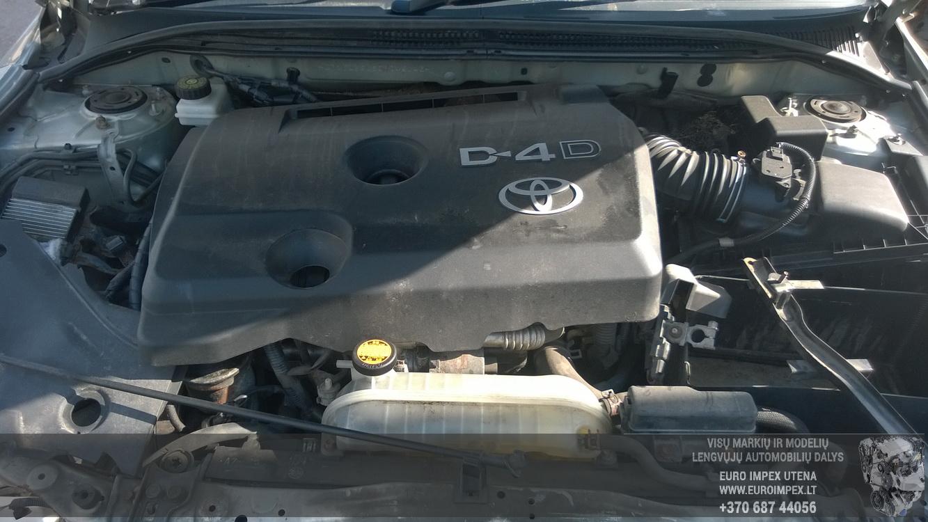 Naudotos automobiliu dallys Foto 8 Toyota AVENSIS 2007 2.0 Mechaninė Universalas 4/5 d. Pilka 2015-8-29 A2359