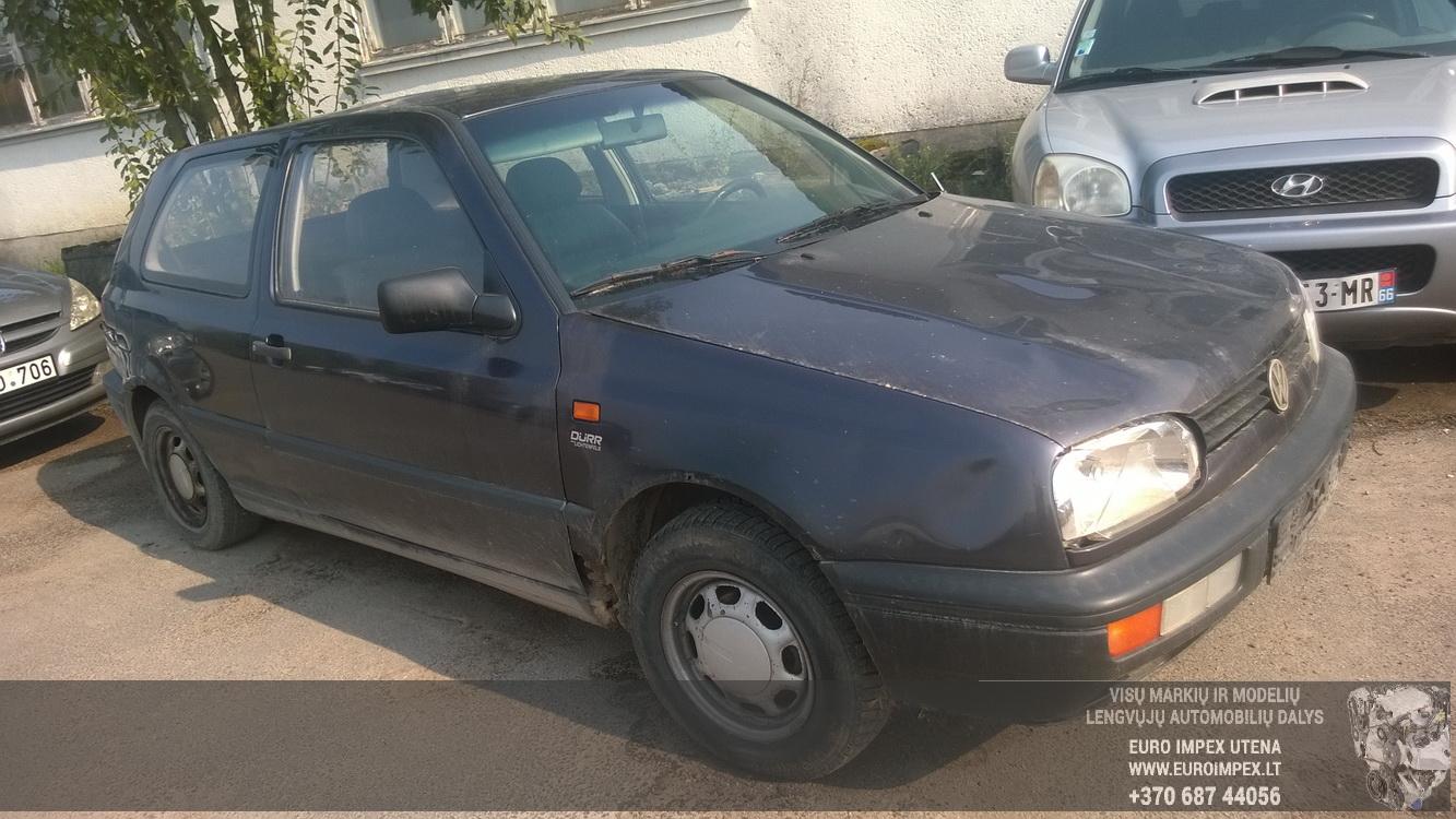Volkswagen GOLF 1993 1.6 Mechanical