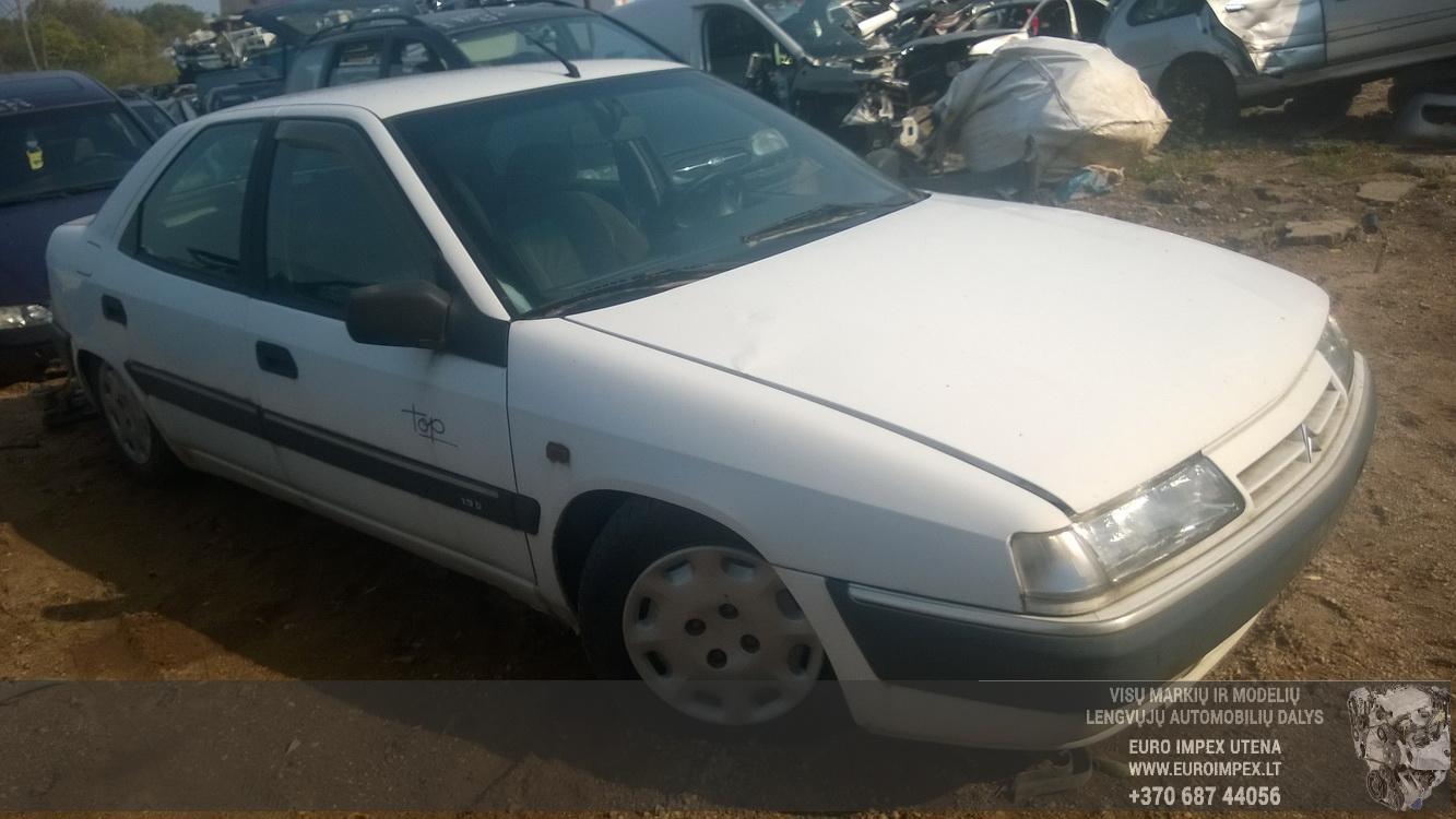 Naudotos automobilio dalys Citroen XANTIA 1995 1.9 Automatinė Sedanas 4/5 d. Balta 2015-9-01