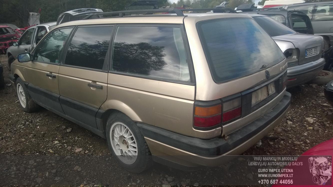 Naudotos automobiliu dallys Foto 6 Volkswagen PASSAT 1989 1.6 Mechaninė Universalas 4/5 d. Ruda 2015-9-22 A2374