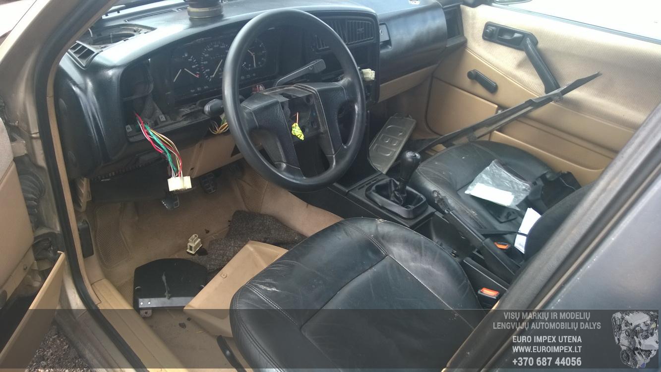 Naudotos automobiliu dallys Foto 7 Volkswagen PASSAT 1989 1.6 Mechaninė Universalas 4/5 d. Ruda 2015-9-22 A2374