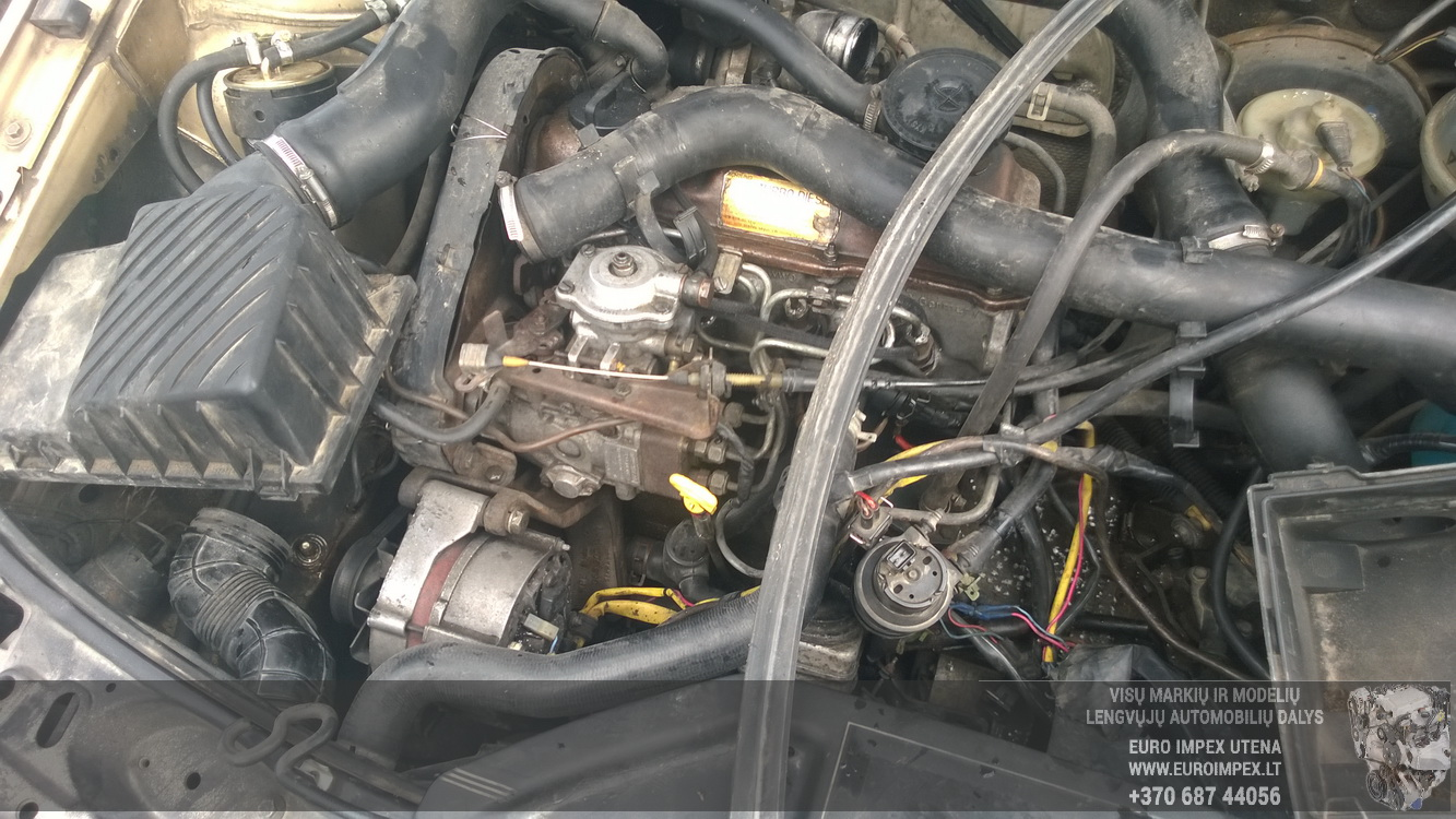 Naudotos automobiliu dallys Foto 8 Volkswagen PASSAT 1989 1.6 Mechaninė Universalas 4/5 d. Ruda 2015-9-22 A2374