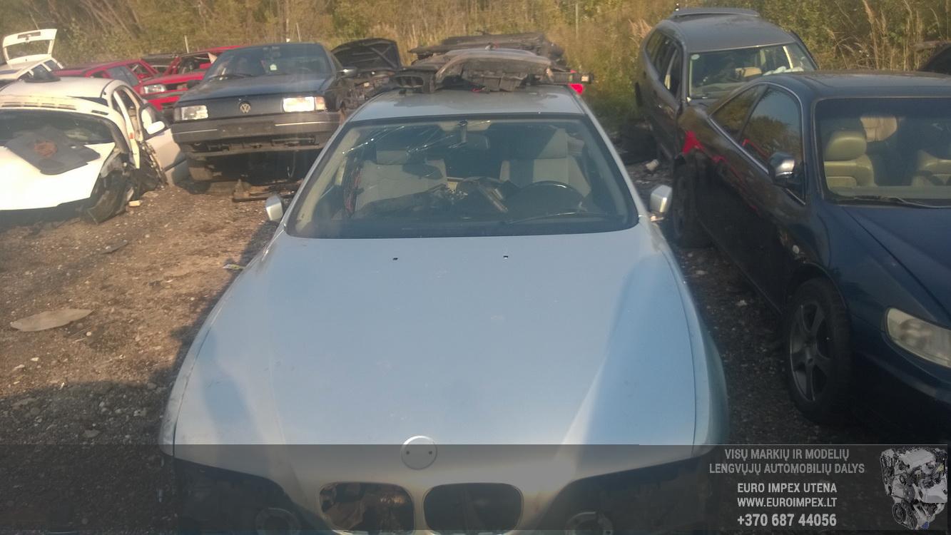 Naudotos automobiliu dallys Foto 2 BMW 5-SERIES 1999 2.5 Mechaninė Sedanas 4/5 d. Zydra 2015-9-24 A2381